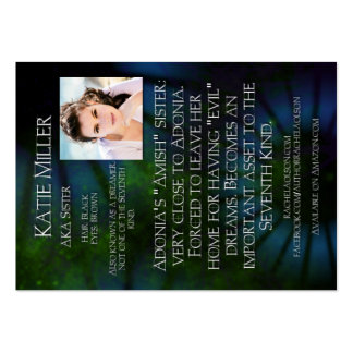 Katie Miller Character Trading Card - 7th Layer Large Business Cards (Pack Of 100)