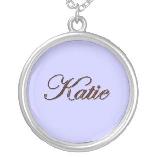 KATIE Name-Branded Gift Pendant Necklace