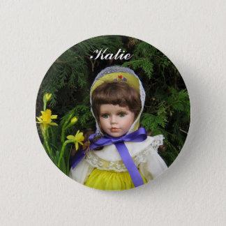 Katie Pinback Button
