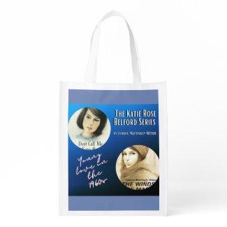 Katie Rose - 1960s Girl! Reusable Grocery Bag