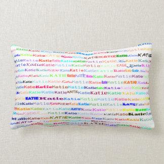 Katie Text Design II Lumbar Pillow