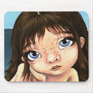 Katie the mermaid mouse pad