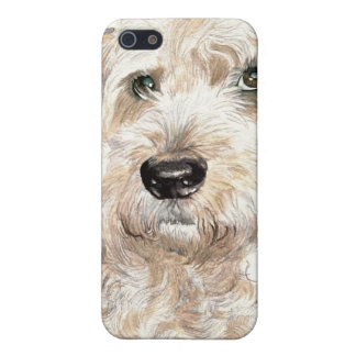 Katie the Soft Coated Wheaton Terrier Case For iPhone SE/5/5s