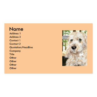 Katie the Wheaton Terrier Business Card