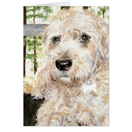 Katie the Wheaton Terrier Card