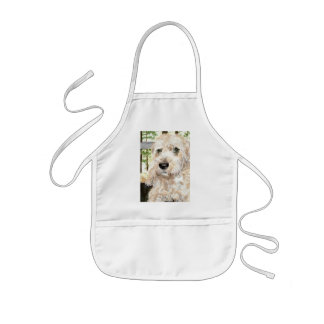 Katie the Wheaton Terrier Kids' Apron