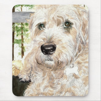 Katie the Wheaton Terrier Mouse Pad