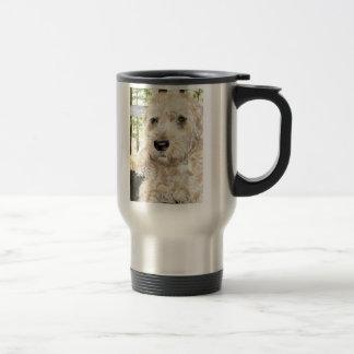Katie the Wheaton Terrier 15 Oz Stainless Steel Travel Mug