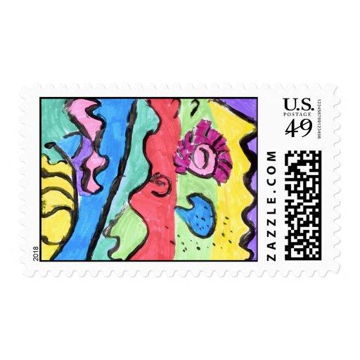 Katie Warren Postage Stamps