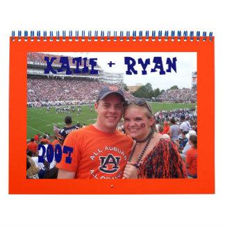 Katie y Ryan Calendario