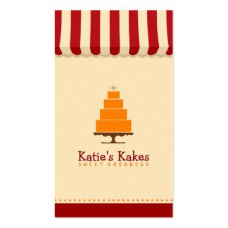 Katie's Kakes Bakery Business Card