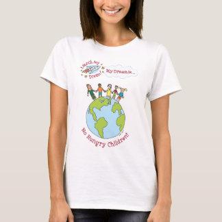 """Katie's """"No Hungry Children"""" Shirt"""