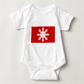 Katipunan Revolution Flag Baby Bodysuit