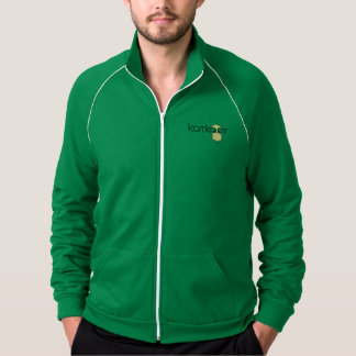 katkoot american apparel fleece track jacket
