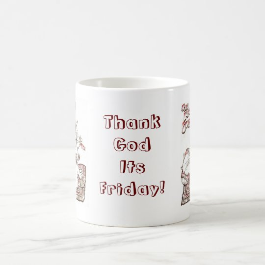 Katma  Sutra Thank God Its Friday Mug