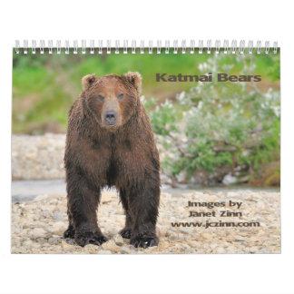 Katmai Bears Calendar 2015