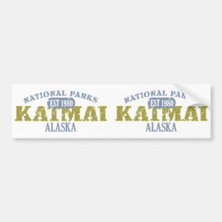 Katmai National Park Bumper Stickers