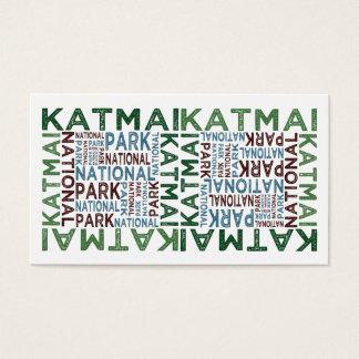 Katmai National Park Business Card