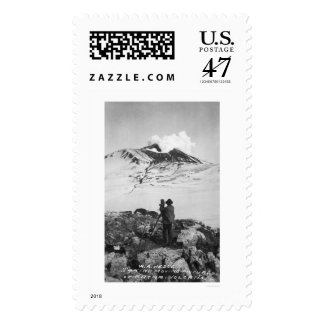 Katmai Volcano Alaska 1913 Postage