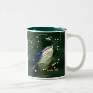 KATMANDU CATFISH COFFEE MUG-DEBBIE-MAY Two-Tone COFFEE MUG