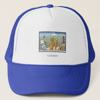 Katmandu & Dogmandu Cartoon Funny Cap