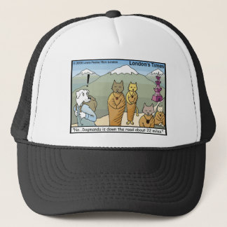 Katmandu Dogmandu Dog Vs Cat Funny Gifts & Tees Trucker Hat