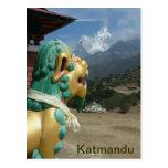 Katmandu, Nepal Tarjeta Postal