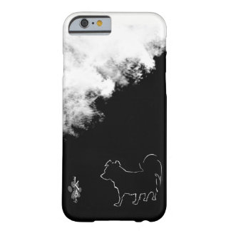 Kato and Clouds of Black & White Pomapoo Series Barely There iPhone 6 Case