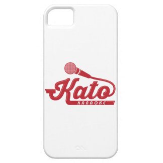 Kato Karaoke Logo iPhone SE/5/5s Case