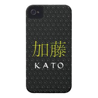 Kato Monogram iPhone 4 Case