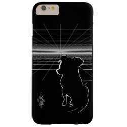 Case-Mate Barely There iPhone 6 Plus Case with Poodle Phone Cases design