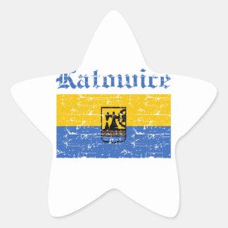 Katowice City designs Star Sticker