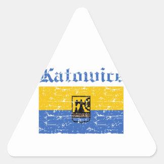 Katowice City designs Triangle Sticker