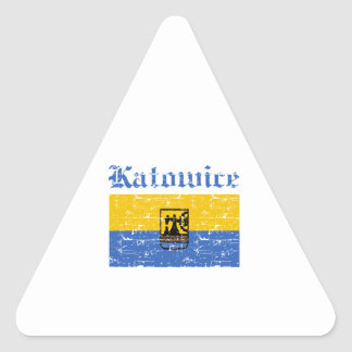 katowice  flag designs sticker