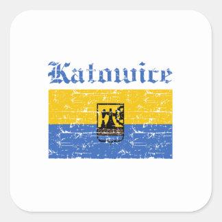 katowice  flag designs stickers