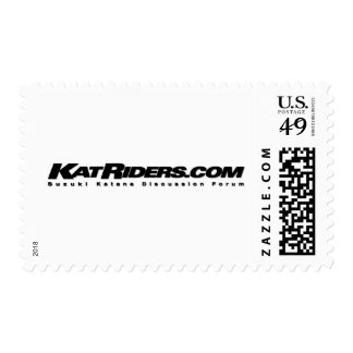 Katriders Logo Postage