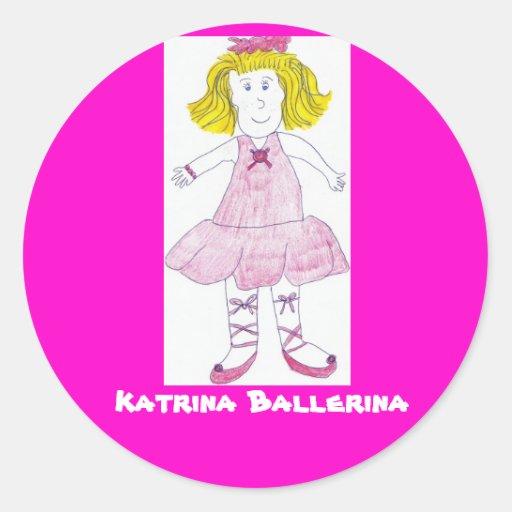 Katrina Ballerina, Stickers