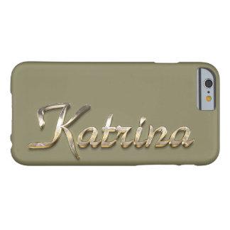 """Katrina"" Custom Monogram iPhone 6/6s Case"