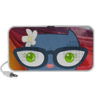 Kats With Glassez : Blu Kitty Speaker