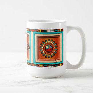 Katsina Faces Classic White Coffee Mug