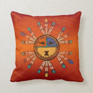 Katsina Headdress Pillow