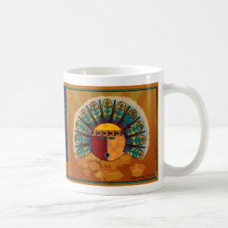 Katsina Mask Coffee Mugs