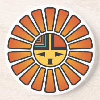 Katsina Sunface Coaster