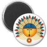 Katsina SunFace Refrigerator Magnet