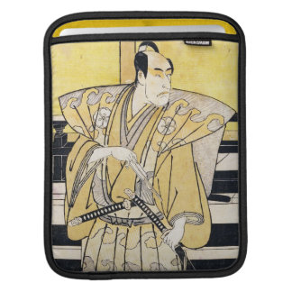 Katsukawa Shunsho Actor as Samurai Katana art iPad Sleeves