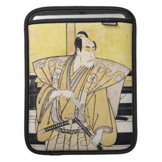 Katsukawa Shunsho Actor as Samurai Katana art Sleeves For iPads