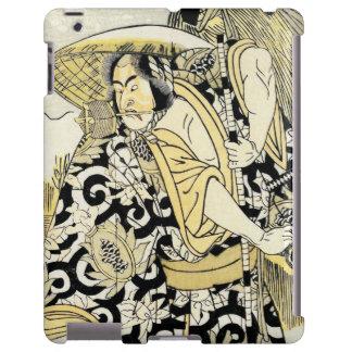 Katsukawa Shunsho actor as samurai katana japanese
