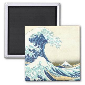 Katsushika Great Wave off Kanagawa Magnet