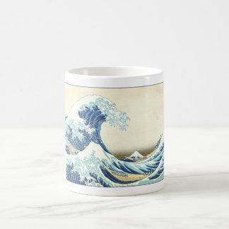 Katsushika Great Wave off Kanagawa Classic White Coffee Mug
