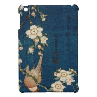Katsushika Hokusai 葛飾 北斎 Goldfinch and Cherry Tree iPad Mini Cover